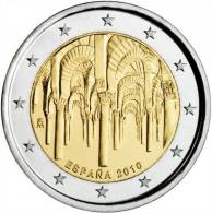 "ESPAÑA  /  SPAIN  2€  SC/UNC   Bimetalica 2.010  2010 Conmemorativa  ""Mezquita De Córdoba"" - España"