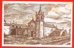 Valença Do Minho - Igreja De Santa Maria ( 2 Scans ) Portugal - Viana Do Castelo