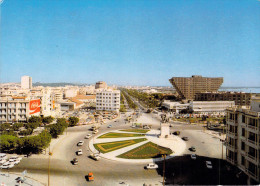 """Tunisie -TUNIS  Place D'Afrique (1) Timbre Stamp""""REPUBLIQUE TUNISIENNE (auto Voiture Pub Publicité Coca Cola) *PRIX FIXE - Tunisie"""