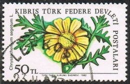 Turkish Cyprus SG114 1982 Definitive 50l Good/fine Used - Usados