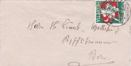Pro-Juventute : Petite Lettre Oblitérée SCHWARTZENBURG Le 29.12.1932 - Pro Juventute
