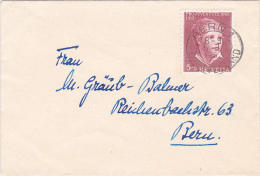 Pro-Juventute : Petite Lettre Oblitérée BERN Le 5.1.1953 - Pro Juventute