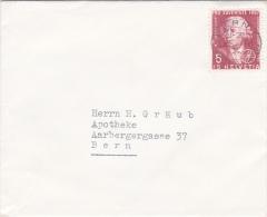Pro-Juventute : Petite Lettre Oblitérée BERN Le 28.12.1957 - Pro Juventute