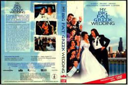 DVD  ,  My Big Fat Greek Wedding - Hochzeit Auf Griechisch  -  Mit : Nia Vardalos - Lovestorys