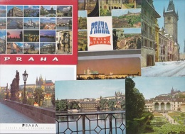 7 CART. PRAHA - Cartes Postales