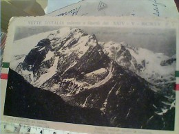 VETTE D´ITALIA REDENTE 1915 DOLOMITI MARMOLADA POESIA FUSINAO  S1915 EO11084 - Trento