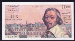 France 10 Francs 15.10.1959 UNC/UNC- - 1959-1966 ''Nouveaux Francs''