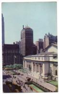 Etats-Unis--NEW YORK  Public Library--42th Street  N°K 10 éd Nester House Publications - Autres Monuments, édifices