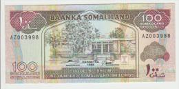 Somaliland 100 Shillings 1996 Pick 5b UNC - Somalia