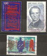 France 1998 Oblitéré N° 3132 - 3134 - 3138   - Assemblée Nationale   - Médiateur De La République - Abbé  Franz Stock - Frankreich