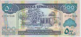 Somaliland 500 Shillings 2006 Pick 6 UNC - Somalia