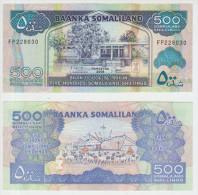 Somaliland 500 Shillings 2008 Pick 6 UNC - Somalia