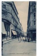 Alg�rie--COSTANTINE--1927--Entr�e de la Rue Nationale (tr�s anim�e,commerces) n�46 Collection P.S