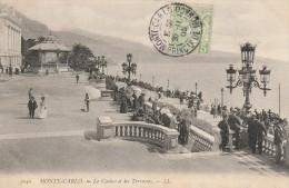 MONTE CARLO - LE CASINO ET LES TERRASSES - Monte-Carlo