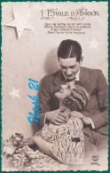 CPA  , Carte Postale Début XXe S. -  ''  L' étoile D' Amour .... '' - Couples