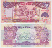 Somaliland 1000 Shillings 2011 Pick 20 UNC - Somalia