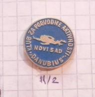 DIVING CLUB DANUBIUS Novi Sad (Serbia) Yugoslavia KPA (CLUB UNDERWATER ACTIVITIES Sous-marines) Diver Plongeur - Diving