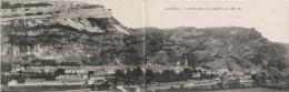 NANTUA PANORAMA ET LE MONT  ALT 937M (CARTE DOUBLE) 1918 - Nantua