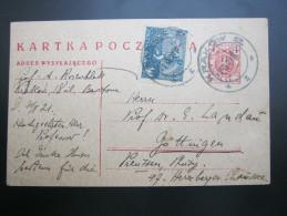 1921,  KRAKOW        , Karte - 1919-1939 Republic