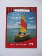 NEW ZEALAND BOOKLET SAILING YACHT $4.00 - Markenheftchen