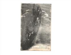 NAVIRE DE GUERRE ... BATTLESHIP ... EXERCICE DU CERF VOLANT ... ... KITE ... CAPITAINE SACONNAY - Warships