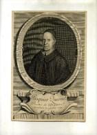- PASQUIER QUESNEL . PRESTRE DE L'ORATOIRE . BURIN DE 1716  . - Religion & Esotérisme