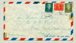 NL Antillen 1953 -  LP-brief Met Stempel Vliegveld Hato & Douane - Curaçao, Nederlandse Antillen, Aruba