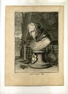 - GREGOIRE XII . EAU FORTE ET BURIN DE 1712 ?. - Religión & Esoterismo