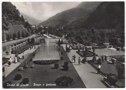 Terme Di Crodo - Parco E Fontana - Verbania - H1963 - Verbania