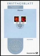BRD - 2005 ETB 24/2005 - Michel 2471 / 2472 - 20-55C  Blumen, Tagetes, Klatschmohn - [7] Federal Republic