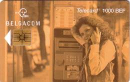 BELGIQUE FEMME CABINE 1000 BEF CP7 31.07.1999 20000 EX RARE