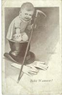 CP Bébé S'Amuse - Humorous Cards