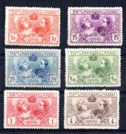 Spain - 1907 - Madrid Exhibition (Perf 11½) - MH - 1889-1931 Royaume: Alphonse XIII