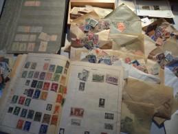 Gros Vrac � trier - petit prix -  principalement timbres anciens - 17 scans