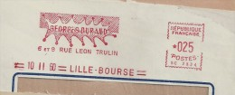 Résistance, Lille, Léon Trulin - EMA Satas - Devant D'Enveloppe   (P195) - Seconda Guerra Mondiale