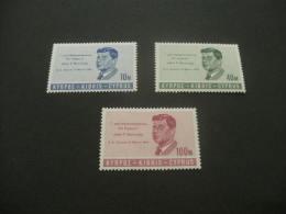 F314- Set Min Thinged  Cyprus 1965- SC. 251-253- Pres. John F.Kennedy - Kennedy (John F.)