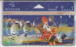 BELGIUM - Santa Claus, CN : 410E, tirage 72000, used