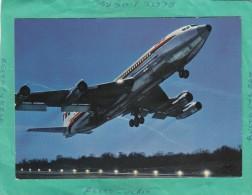 BOEING 707 B INTERCONTINENTAL T W A - 1946-....: Moderne