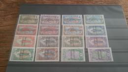 LOT 236744 TIMBRE DE COLONIE OUBANGUI NEUF* N�1 A 16 VALEUR 102 EUROS FEUILLE
