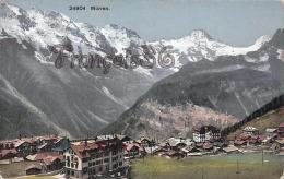 (Suisse) - Switzerland - Berne - Bern - Mürren - 2 SCANS - BE Berne