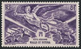 WALLIS ET FUTUNA 1946 - Yv. PA 4 (*) Var.  Cote= 2,00 EUR - Anniversaire De La Victoire ..Réf.W&F21591 - Luftpost