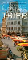 Broschüre Trier 1980er Deutschland Treves Treviri Treveris Germany Prospekt - Reiseprospekte