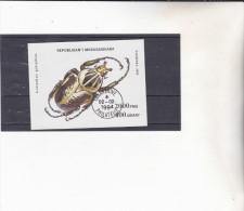 MADAGASCAR ; insecte  : Y&T : o : BF 90 B