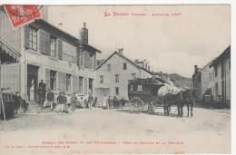 LA BRESSE : (88) Bureau Des POSTE Et TELEGRAPHE. Vers Le Chajoux Et La Vologne - Unclassified