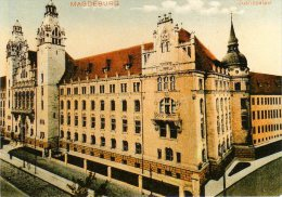Magdeburg - S/w Justizpalast - Magdeburg