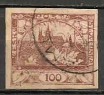 Timbres - Tchécoslovaquie - 1918 - 100. -