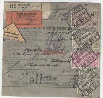 Belgien Paketkarte 1929
