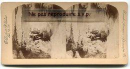 - Niagara Falls - Fairy Grotto, French-American Stéreoscopie, Albuminée, C Biertadt, Dim : 8.8 X 10.8 Cm, Scans. - Stereoscopic