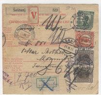 Jugoslawien Paketkarte 1928