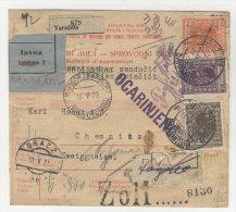 Jugoslawien Paketkarte 1929